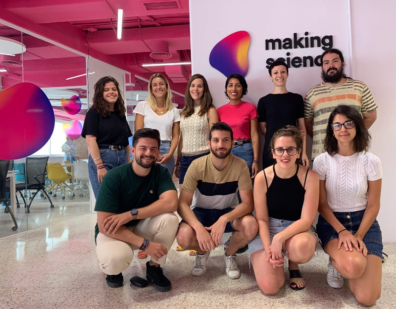 Making Science incorpora a once nuevos profesionales