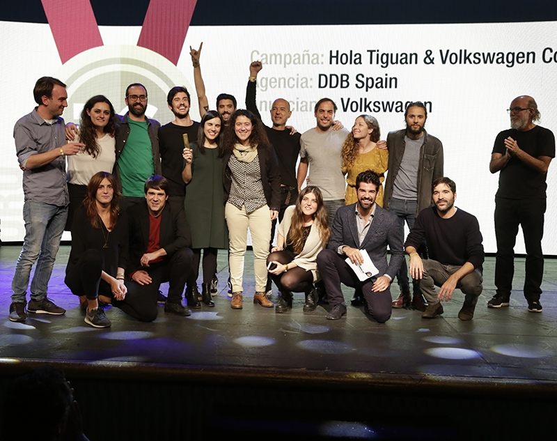 DDB Spain recibe el Gran Premio Inspirational 2016